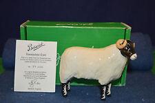 Lovely John Beswick Swaledale Ewe 2005 No 39 of 1000 With Free Box USC RD5647