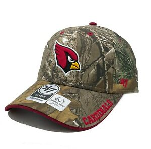 Arizona Cardinals '47 Realtree Camo Frost MVP Adjustable Field Hat Cap NFL