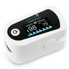 Innovo Premium Fingertip Pulse Oximeter Blood Oxygen Monitor Heart Rate Meter
