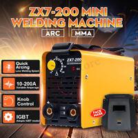 ZX7-200 Igbt Schweißen Wechselrichter Maschine Mma / Arc Tragbar 220V 10-200A