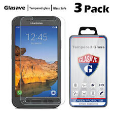 [3-Pack] Tempered Glass Screen Protector Saver For Samsung Galaxy S7 Active G891