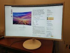 Samsung CF391 32 inch 1080p Curved LED Monitor - Built in Speakers