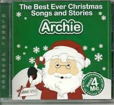 ARCHIE - THE BEST EVER CHRISTMAS SONGS & STORIES PERSONALISED CD