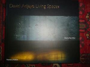 DAVID ADJAYE Living Spaces NEW modern architecture architect HARDBACK