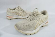 Asics Womens Gel Nimbus 22 Cream Gold Running Shoes Lace Up Low Top Size 8.5