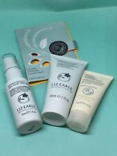 Liz Earle concentrate, cleanse & polish, mask,spritzer tonic travel/holiday set
