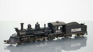 Blackstone Models K-27 Class Rio Grande Southern WEATHERED DCC w/Tsunami HOn3
