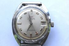 Vintage Waltham Wind Up Watch 17 Jewels Shock Resistant Mens Running