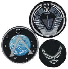 Stargate sg1 lot 3 ecussons 1ère version SG1 first version stargate team patches