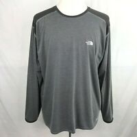 The North Face Mens Gray VaporWick Long Sleeve T-shirt Size XL