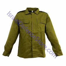 Israel IDF Army Heavy Duty Durable Combat Uniform Shirt Size M