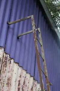 A Tall Wrought Fire Escape Ladder 3.65m