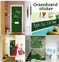 HOT Black Chalkboard Wall Sticker Removable Blackboard Vinyl Decal DIY 200X45CM