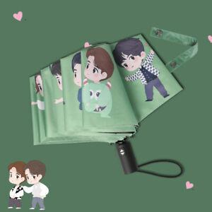 Xiao Zhan Wang Yibo Sun Umbrella Fully Automatic Umbrella Gift for Women