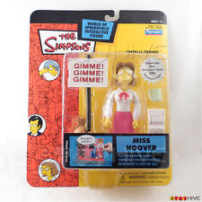 Simpsons teacher Miss Hoover series 14 intellitronic WoS Playmates - worn pack