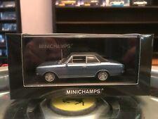 Minichamps Opel Commodore 1966 Metallic Blue 1/43 MIB Ltd Ed 430 046164