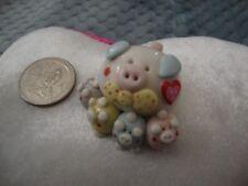 Valentine's gift Collectibles Pigs Handmade Miniatures Piggies Animals Figurines