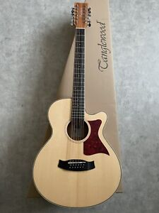 Folk Electro Acoustic Guitar RRP £329 12 String Orchestra with tuner preamp