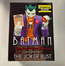 """Batman The Animated Series """"Laughing Fish"""" The Joker Bust EE Exclusive"""