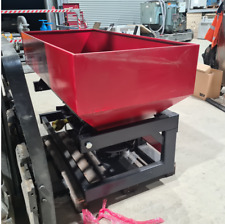 MILLERS Falls TWM 1000 Litre Capacity 3 Point Linkage Twin Spindle Spreader