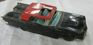 Vintage 1960 BANDAI  FORD THUNDERBIRD  2 Door  with Sun Roof ( Parts or Restore)