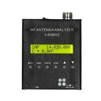 MR300 Digital Shortwave Antenna Analyzer Meter 1-60MHz RF SWR for Ham Radio K7J8