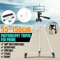 55-150cm Universal Stretchable Rotation Camera Phone Tripod Mount Stand Holder