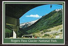 Snow Tunnels, Rogers Pass, Glacier National Park Postcard--British Columbia