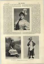 1897 Maggie May Lionel RIGNOLD Winnipeg Drill Hall Cabaret Mera MORCEAU