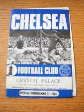 06/01/1971 Chelsea v Crystal Palace [FA Cup Replay] (Creased, Team Changes). No