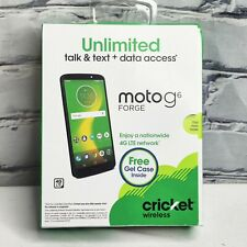 New Motorola Moto G6 Forge Cricket Wireless Prepaid Smartphone - 4G LTE