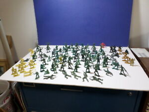 Vintage Plastic Toy Soldiers MPC and Other Brands,Some Hong kong (115) ea