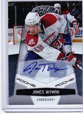 10-11 2010-11 CERTIFIED JAMES WYMAN ROOKIE AUTOGRAPH /799 202 MONTREAL CANADIENS