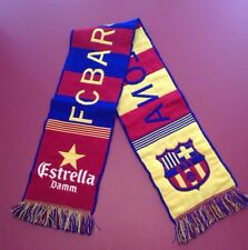 "FCBarcelona Scarf 51 1/2"" Long, 8"" Wide"
