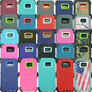 For Samsung Galaxy (S7 Edge) Defender Case Cover w/ (Belt Clip Fits Otterbox)