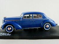 IXO #86 Opel Admiral (1937-1939) in blau 1:43 NEU/PC-Vitrine