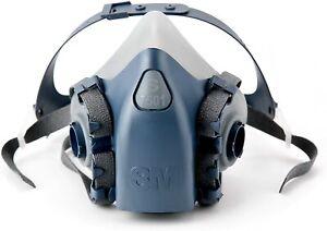 GENUINE 3M Half Face 7501 Small Respirator