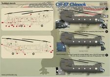 STAMPA Scala 1/48 BOEING CH-47 Chinook PARTE 2 #48044