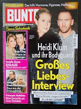 @@ BUNTE 46/12 @@ Heidi Klum & ihr Bodyguard @@