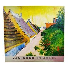 Vintage Van Gogh In Arles Print from Metropolitan Museum of Art 1984 Exhibit