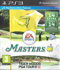 TIGER WOODS PGA TOUR 12 THE MASTERS for Playstation 3 PS3 - with box & manual