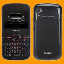 Philips Xenium F322 2MP LED FM MP3 A2DP QWERTY Dual SIM Standby GSM Cell Phone