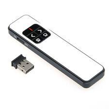 Pointeur Laser Télécommande de Présentation Power Point Conférence Récepteur USB