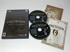 The Elder Scrolls Iv Oblivion Game Of The Year Edition Pc DVD Rom Complete