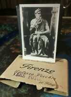 Very Beautiful rare Firenze vintage B&W small picture 3 X 2 Look & bid buy now!!