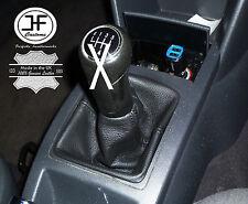 PER VW VOLKSWAGEN POLO 9N 9N2 2002-2009 CUFFIA LEVA CAMBIO 100% PELL NUOVO