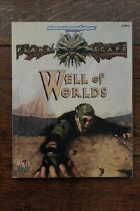 Well of Worlds Planescape AD&D 2nd Edition Module TSR 2604 With Map 1994