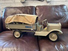 RARE Restored Keystone Pressed Steel Packard U.S. Army Truck