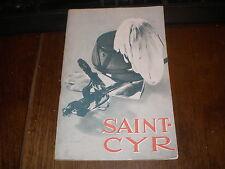 PLAQUETTE ECOLE MILITAIRE DE SAINT-CYR 1954 CASOAR