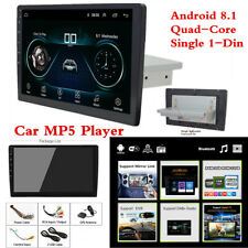 "10.1"" 1Din Car MP5 Player Bluetooth Stereo Radio GPS WiFi Mirror Link DAB OBD"